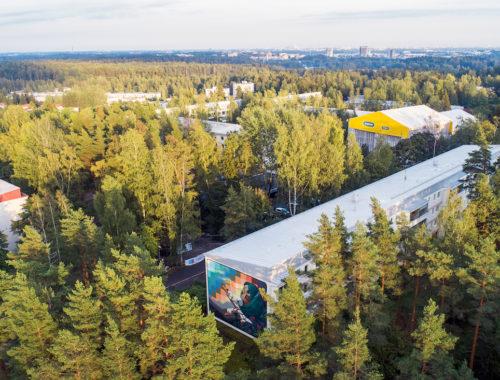 Ensimmäiset Upeart Festival 2019 -muraalit valmistuivat Espoossa ja Joensuussa